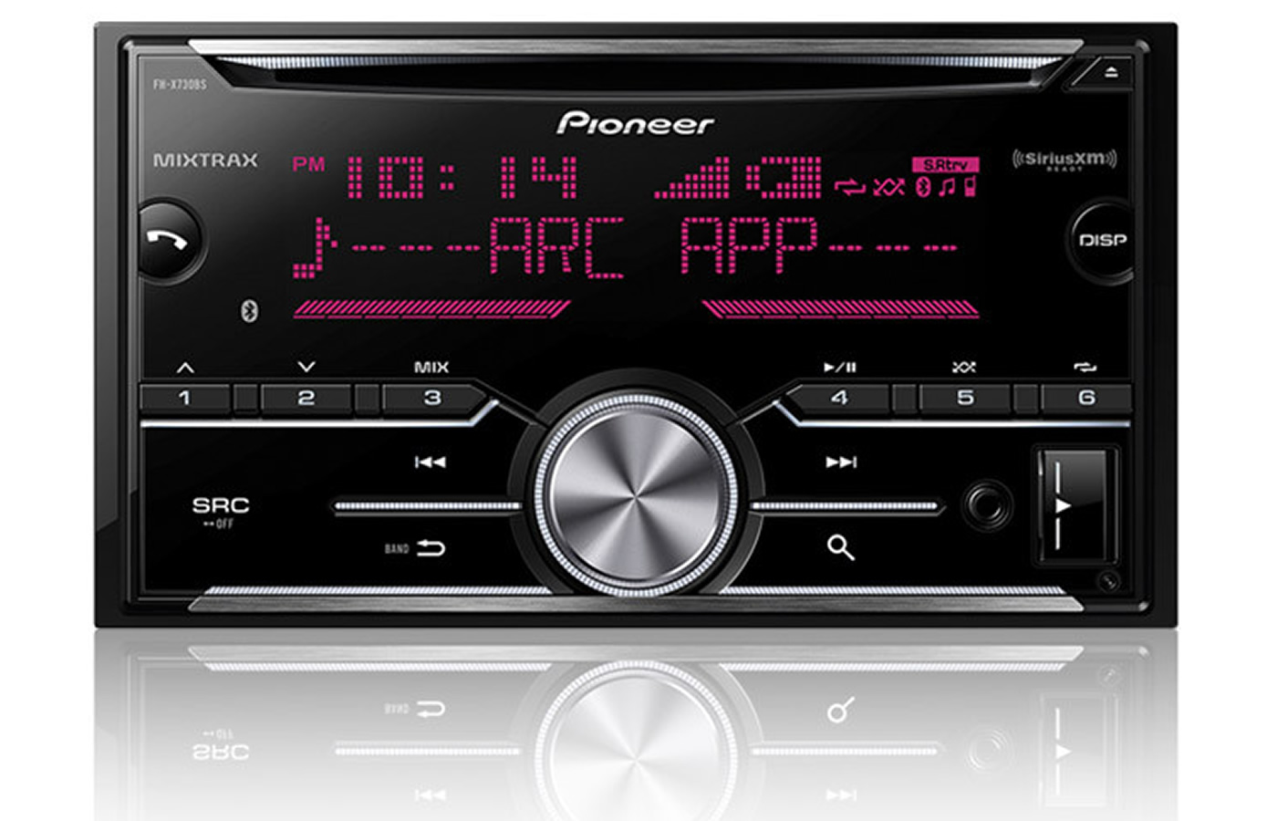 Pioneer FHX730BS Double Din
