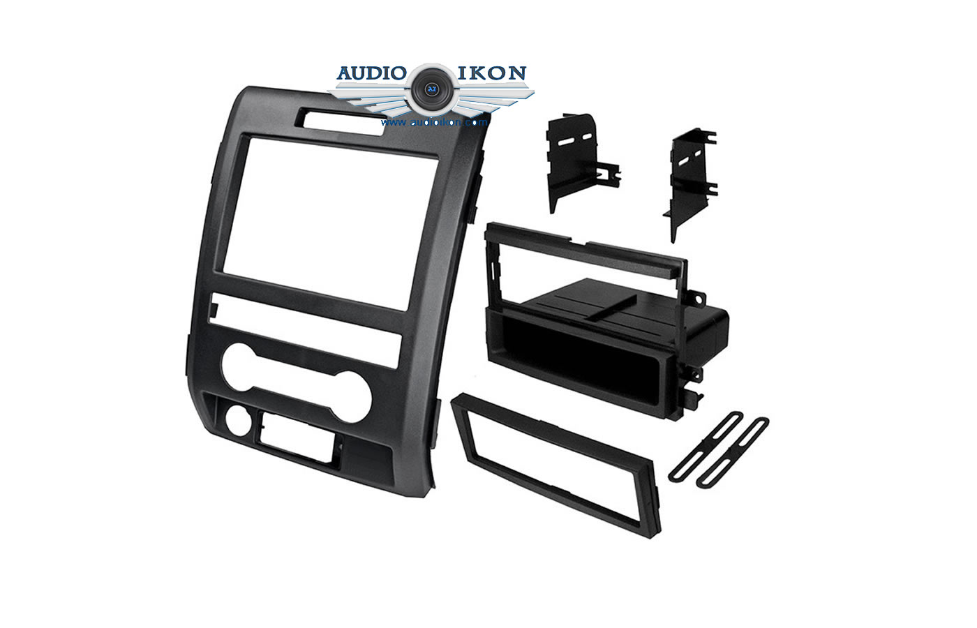 American International FMK542 Double DIN Radio Installation Kit For 04-13 Ford