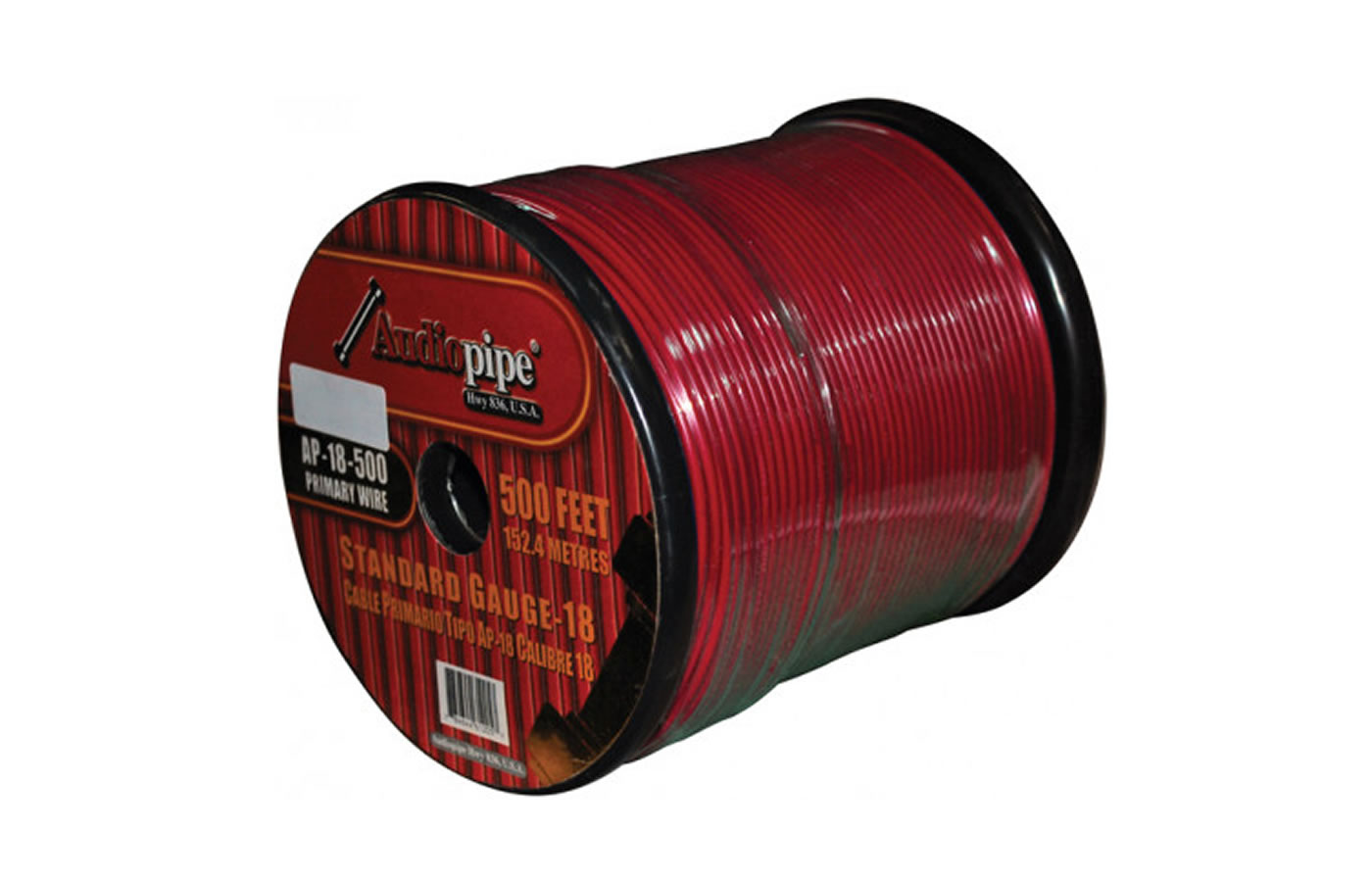 AP18500RD 500' Red Spool 18Ga. wire